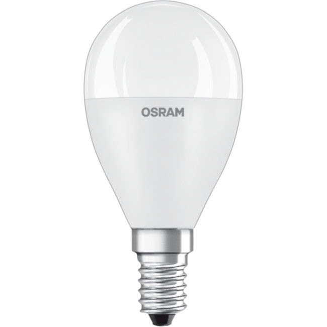 Osram Value CL B 40 7W 4000K cool white E14 806lm LED