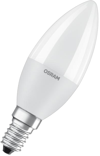 Žiarovka LED VALUE CL B sviečka 7W/827 (60W) 806lm 2700K 180° 230V E14